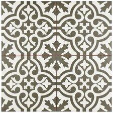 """Alameda 17.63"""" x 17.63"""" Ceramic Field Tile in Gray"""