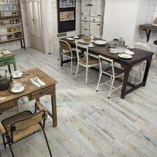 """Zara 2.88"""" x  26.5"""" Porcelain Floor and Wall Tile in Gray/Beige"""