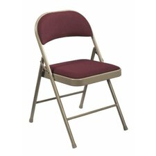 Commercialine Fabric Padded Folding Chair (Set of 4)