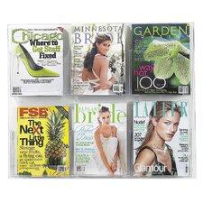6 Pocket Magazine Rack
