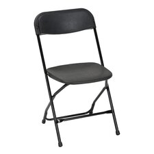 Classic Heavy Duty, Injection Mold Folding Chair Set (Set of 8)