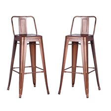 Gold Bar Stools You Ll Love Wayfair