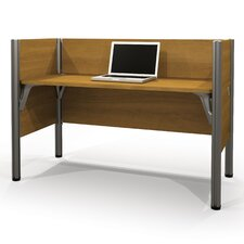 Pro-Biz Simple Workstation with 3 Privacy Panels
