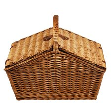 Huntsman Basket for Four with Coffee Service in Gazebo