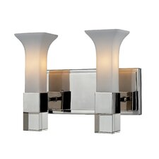 Lotus 2-Light Vanity Light