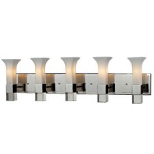 Lotus 5-Light Vanity Light