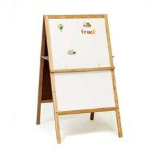 Children's Easels - Teacher's Helper Easel Magnetic Free-Standing Whiteboard, 4' H x 2' W