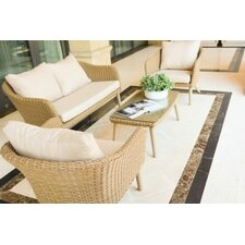 Valencia 2 Seater Sofa Set with Cushions