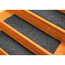 Aqua Shield Charcoal Fall Day Stair Tread (Set of 4)