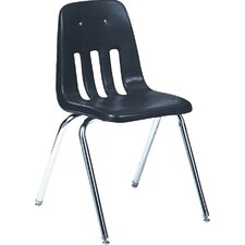 "9000 Series 18"" Plastic Classroom Chair (Set of 4)"