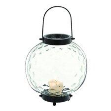 Modern Styled Indian Metal Glass Lantern