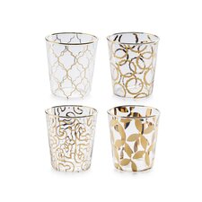 Luxe Moderne Double Old Fashioned Glass (Set of 4)