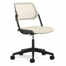 QiVi Mid-Back Mesh Desk Chair