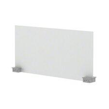 """Bivi 14.25"""" H x 30"""" W Desk Privacy Panel"""