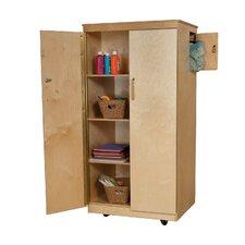 Teacher's Foding Classroom Cabinet with Doors