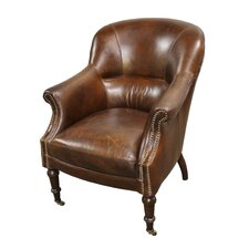 Anniston Leather Arm Chair