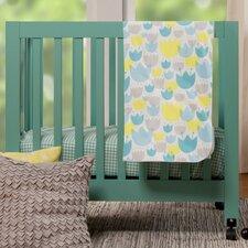 Tulip Garden 4 Piece Crib Bedding Set