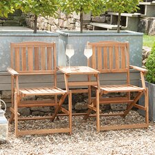Antibes 2 Seater Wooden Bench