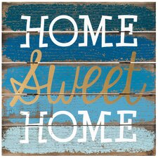 Home Sweet Home Sign Wall Decor