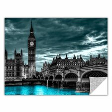 ArtApeelz 'London' by Revolver Ocelot Graphic Art Removable Wall Decal