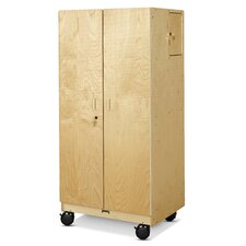 Hideaway Classroom Cabinet with Casters