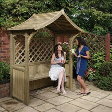 Party 2 Seater Timber Arbour