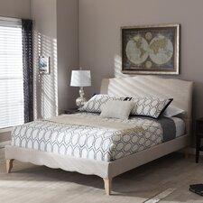 Baxton Studio Upholstered Platform Bed  Wholesale Interiors