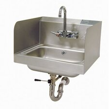 "17.25"" x 15.25"" Single Hand Sink with Faucet"