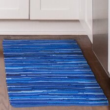 Chindi Tonal Hand-Woven Blue Area Rug