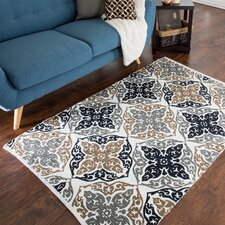 Chindi Hand-Woven Black/Brown Area Rug