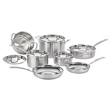 Multiclad Pro Stainless Steel 12-Piece Cookware Set