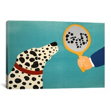 Mirror Image Of Dog by Stephen Huneck Painting Print on Wrapped Canvas