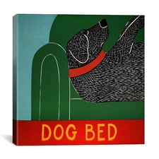 Dog Bed by Stephen Huneck Graphic Art on Wrapped Canvas