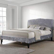 Carlo Crushed Velvet Upholstered Bed Frame