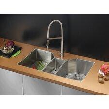 Triple Kitchen Sinks You Ll Love Wayfair