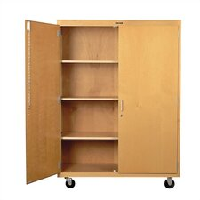 Portable Classroom Cabinet with Casters