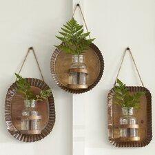 Byram 3 Piece Wall Vase Set