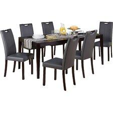 tilo  piece dining set tilopiecediningset tilo  piece dining set: seven piece dining set