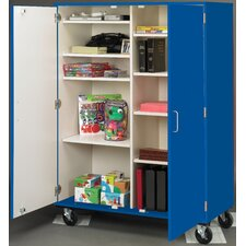 Classroom Cabinet with Casters