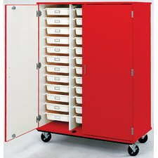 36 Compartment Classroom Cabinet with Trays