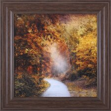 October Trail by Jessica Jenney Framed Photographic Print