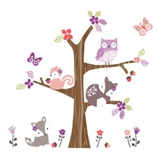Lavender Woods Wall Decal