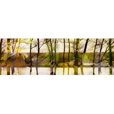 Marmont Hill Lake Trees Art Print Wrapped on Canvas