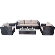 Luxe 5 Seater Sofa Set with Cushions