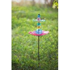 Garden Stake Decorative Bird Feeder