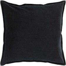 Carey 100% Cotton Velvet Throw Pillow Cover