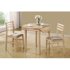 quick view lynbrook  piece dining set: three piece dining set