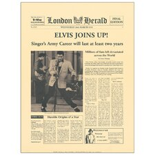 'Elvis Joins Up!' by the Vintage Collection Vintage Advertisement