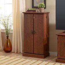 2 Door Traditional Cherry Storage Cabinet