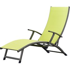 Modern outdoor chaise lounges allmodern for Breezy beach chaise